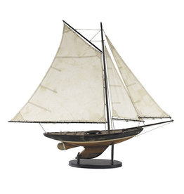 Authentic Models America Newport Sloop Model Sailboat