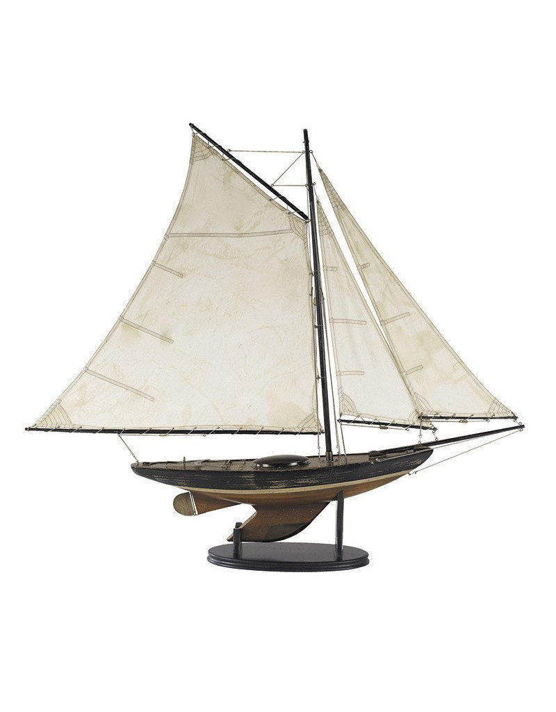Authentic Models America Newport Sloop Model Sailboat