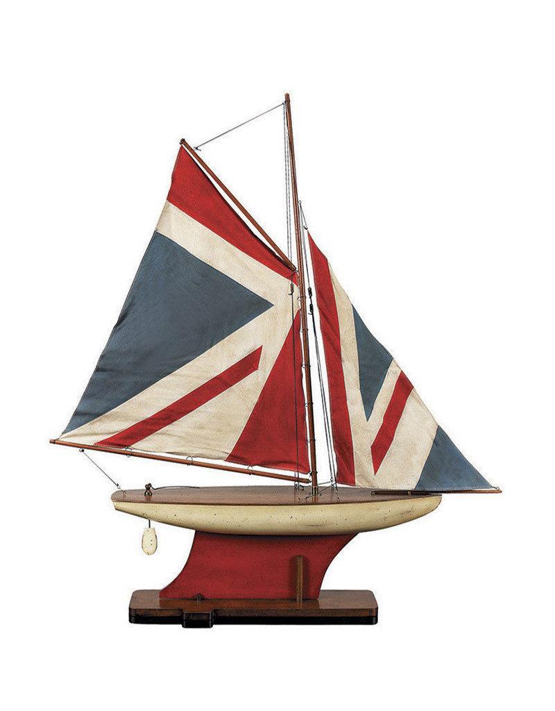 Union Jack Pond Yacht Model Sailboat