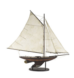 Yacht 'Ironsides' Small Model Sailboat