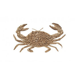 Rustic Driftwood Crab Large
