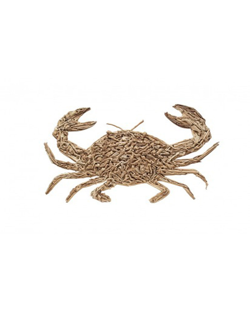 Rustic Driftwood Crab Large