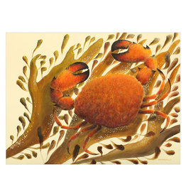 Orange Crab Canvas Print