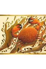 Orange Crab Canvas Print