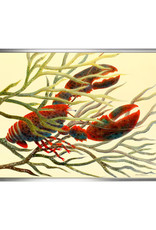 Lobster in Drifting Kelp Canvas Print