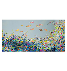 Vivid Waves Canvas Print