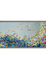 Vivid Waves Canvas Print