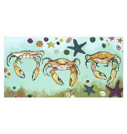 Crabs & Starfish Canvas Print