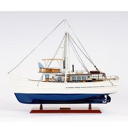 Dickie Walker Model Fishing Boat