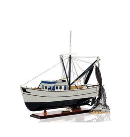 Shrimp Boat Model Fishing Boat