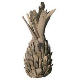 Driftwood Pineapple Sculpture