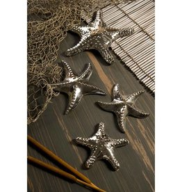 Silver Starfish  Set of 2