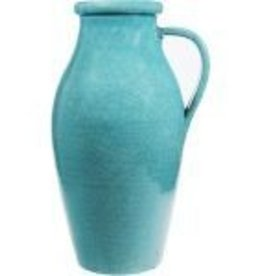 Tall Aqua Pitcher