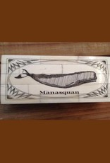 Whale 1793 Scrimshaw Bone Box Manasquan