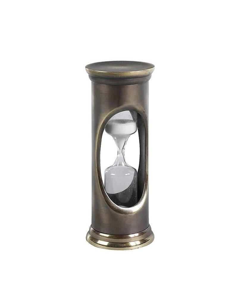 Bronzed 3 Minute Sandglass