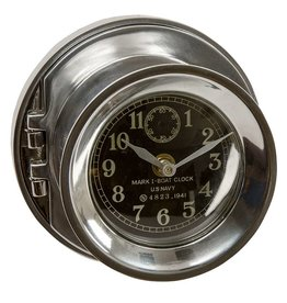 Classic Naval War II Era Clock
