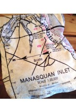 Manasquan Inlet Nautical Chart Blanket