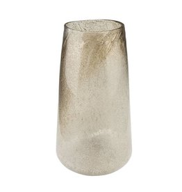 Brown White Ombre Vase