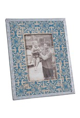 Tile Printed Picture Frame 4x6