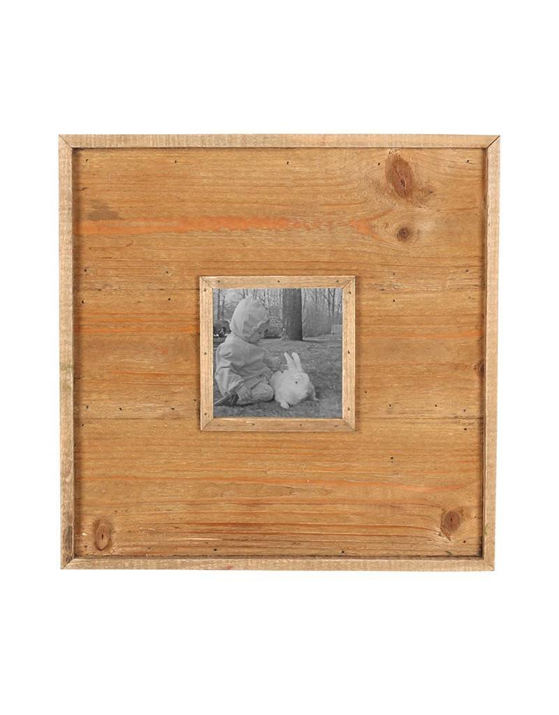 Wood Panel Picture Frame 4x4