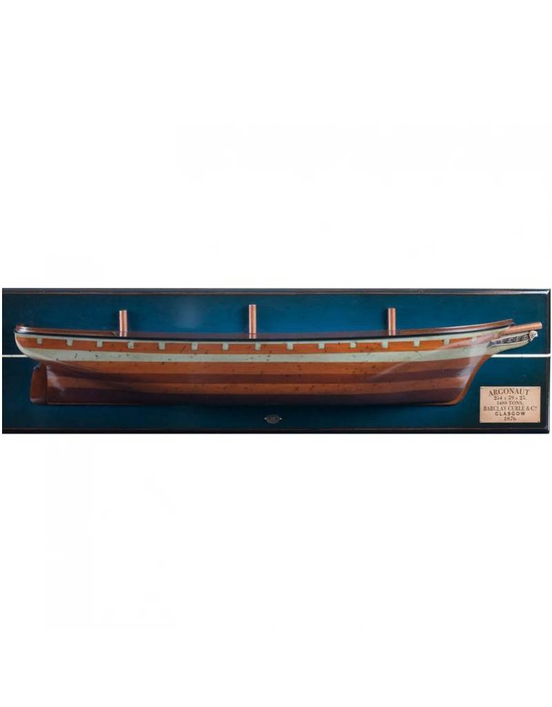 Authentic Models America Clipper Ship Half Hull Model