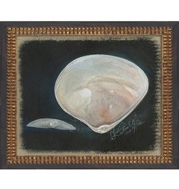 Clam Shell Framed Print