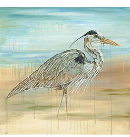 Red Bird Collective Art Great Blue Heron Canvas Print