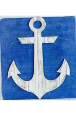 Grace Graffitti Distressed Wood Anchor