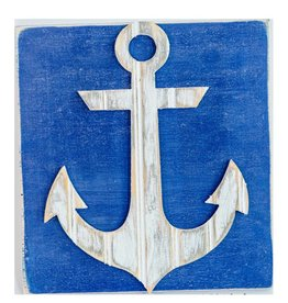 Grace Graffitti Distressed Wood Anchor