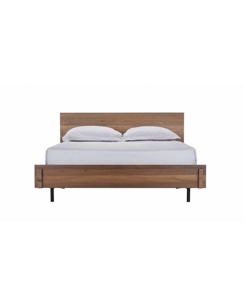 RECLAIMED TEAK BED