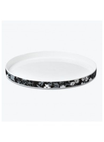 FLOWERS PLATE - LARGE