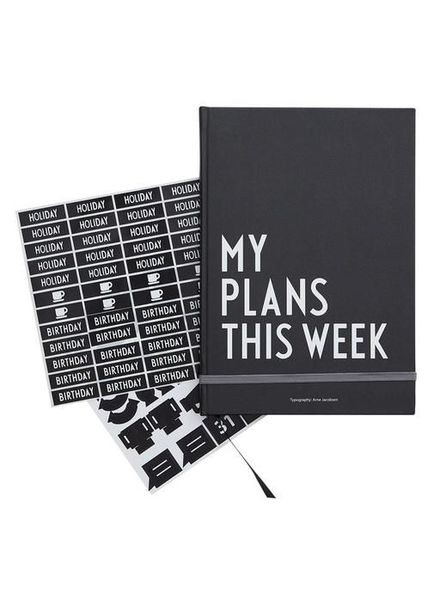 MY PLANS NOTEBOOK