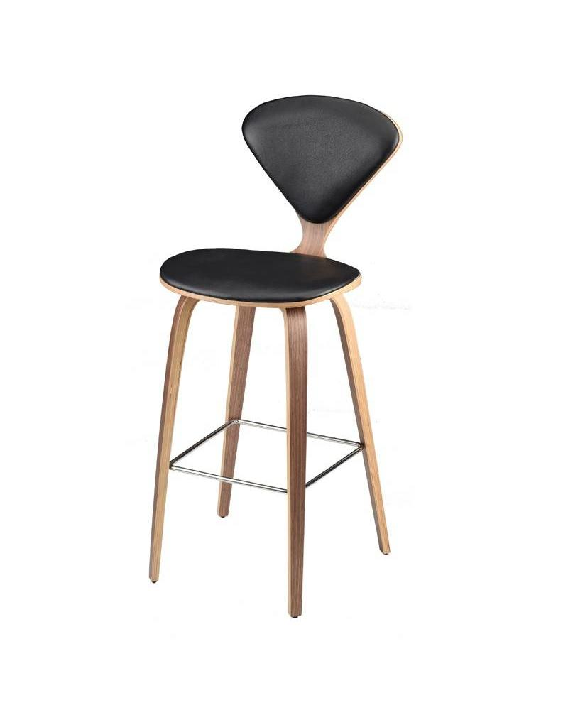 SATINE STOOL - LEATHER