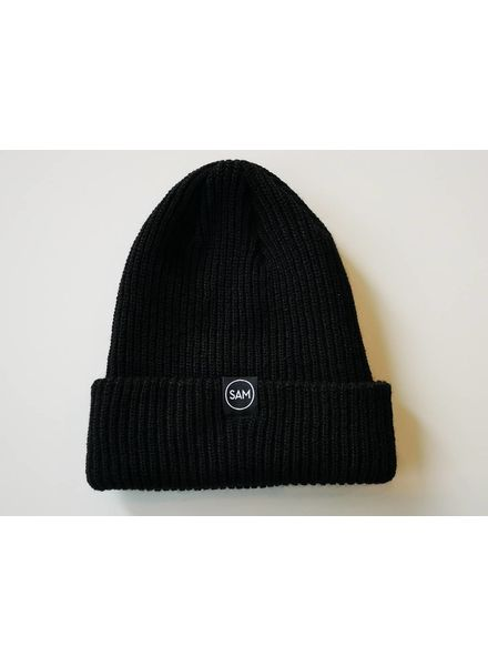 SAM DESIGN BRANDED TOQUE - BLACK