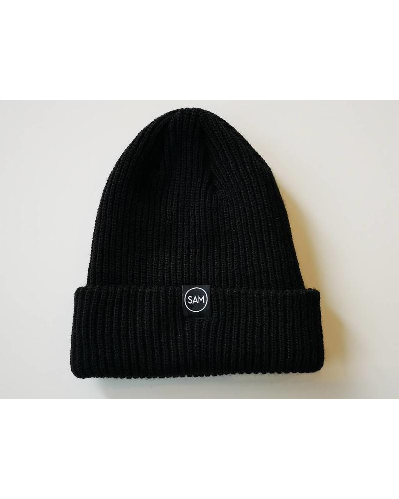 SAM DESIGN TOQUE - BLACK