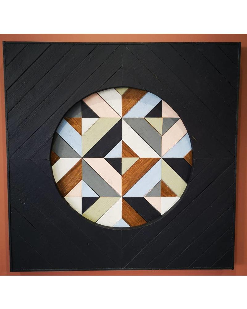 JESS WATERMAN - 3 X 3 WOODEN QUILT