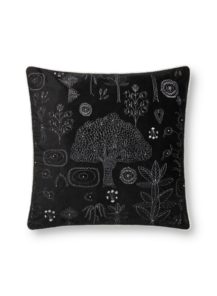 "LOLOI BLACK 22"" DOWN FILLED PILLOW"
