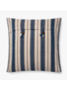 "LOLOI INDIGO / NATURAL 22"" PILLOW COVER"