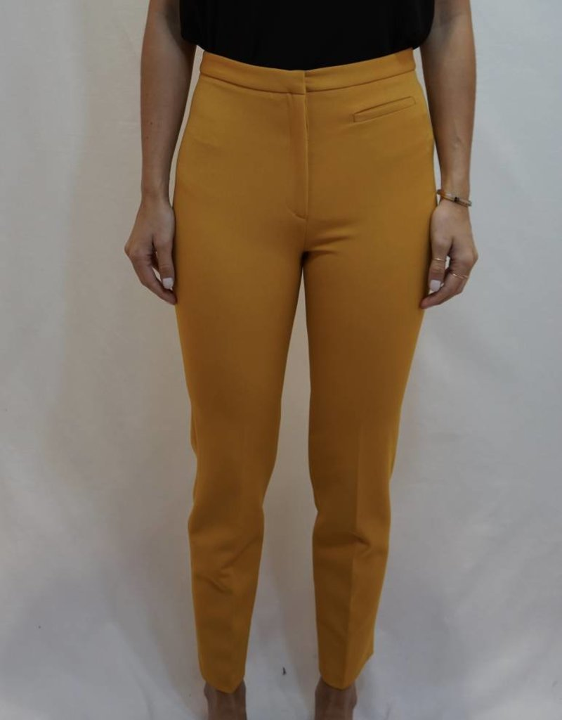 MILLY Skinny Tailored Pant with Front Pocket