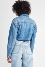 DL1961 Annie Denim Cropped Jacket