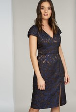 HUTCH Hadley Cap Sleeve Dress
