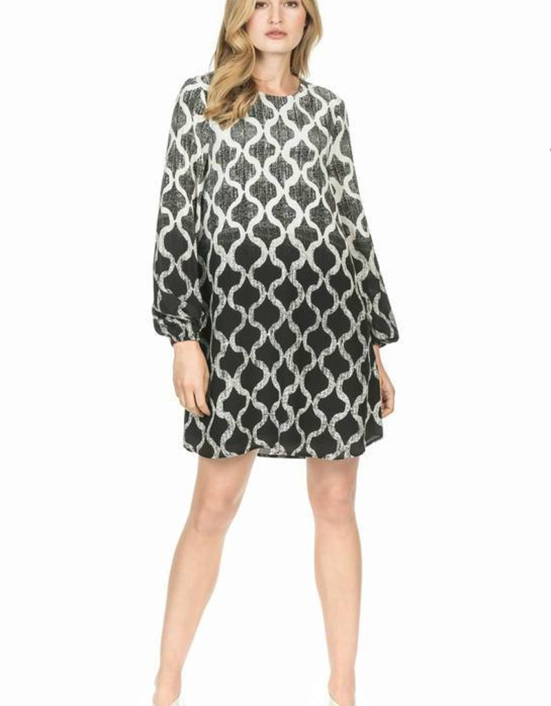LEO & SAGE Pattern Dress