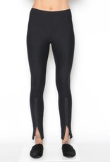 ELAINE KIM Paquirri Tech Stretch Pant w/ Front Ankle Zipper