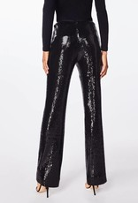NICOLE MILLER High Waisted Sequin Pant
