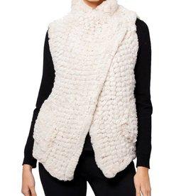 Love Token Amy Faux Fur Vest