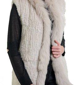 Love Token Vera Rex Fur Vest