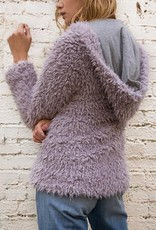 AS BY DF Lily Zip Shag Fur Jacket