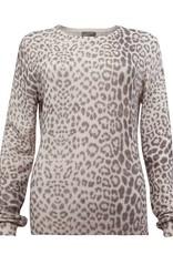 Brodie Cashmere Leopard Print Sweater