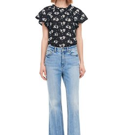 Rebecca Taylor HELENE EMBROIDERED BLOUSE