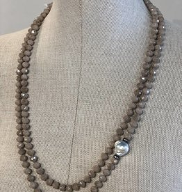 IN2DESIGN MARIANNE CRYSTAL BEADS NECKLACE